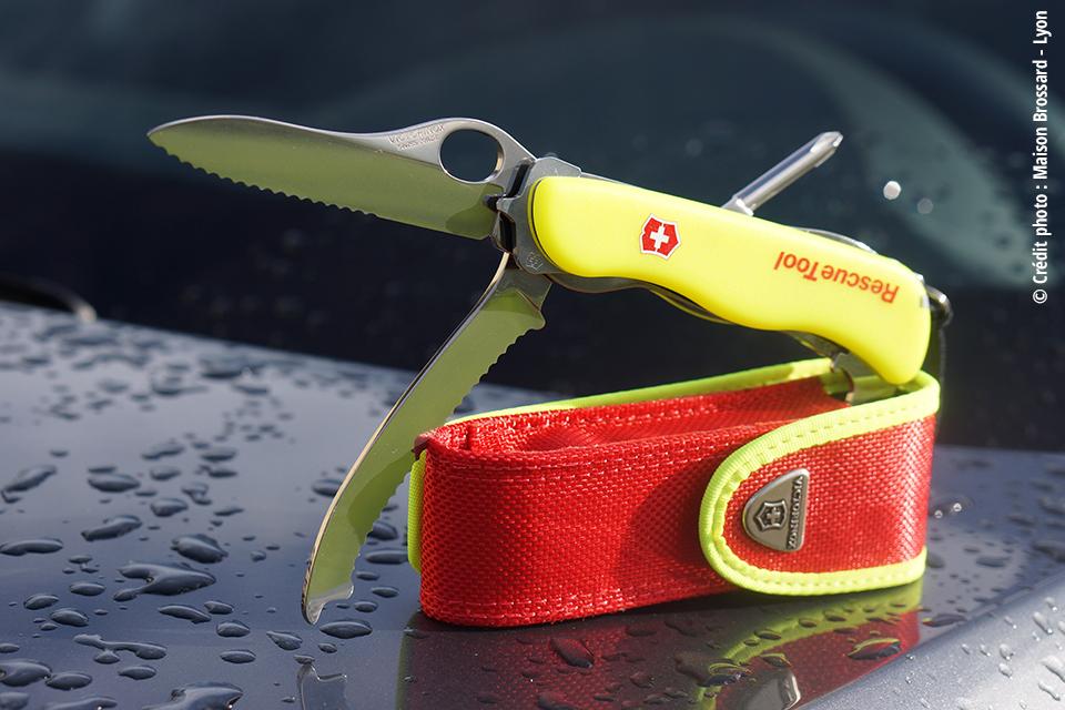 Couteau Secouriste Suisse Victorinox