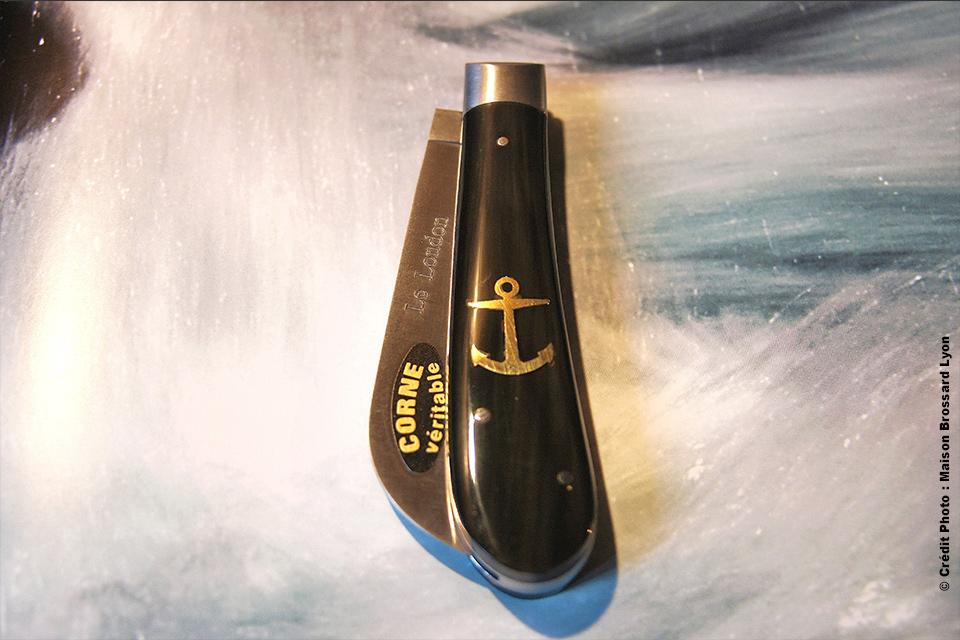 Le London couteau de marin en corne