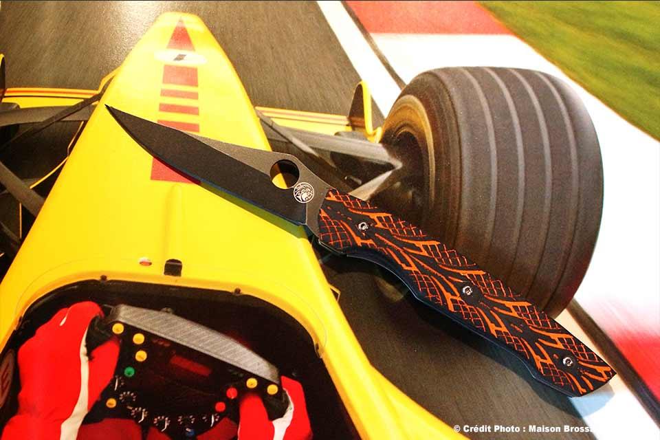 Le Lug manche en pneu