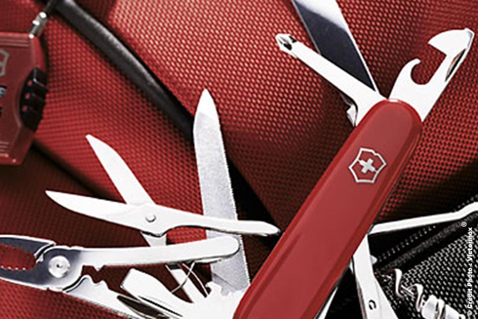Le véritable Couteau Suisse Victorinox