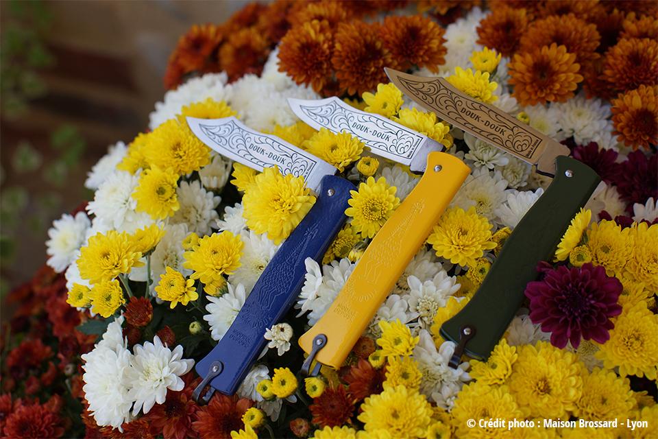 Les Couteaux Douk-Douk. De 24€ à 380€ en version damas