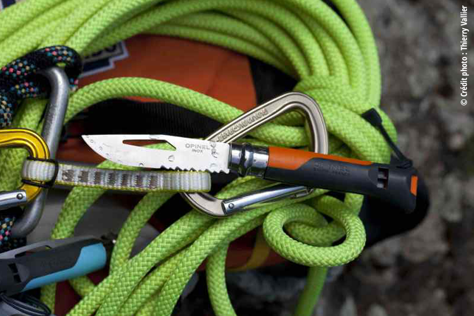 Le Couteau Opinel Outdoor. 25€
