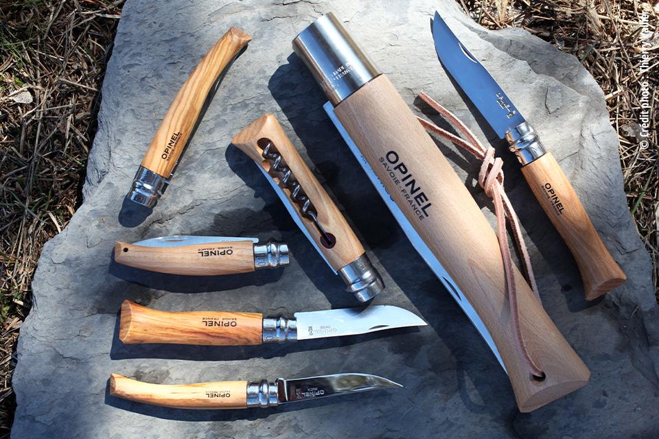 Les Couteaux Opinel Inox Traditionnels. Large gamme de 9€80 à 99€