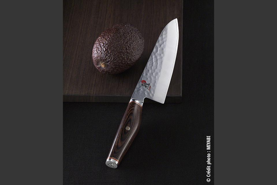 Miyabi Seki Japon – 6000 MCT – 3 Couches martelées. Large gamme de 149€ à 240€