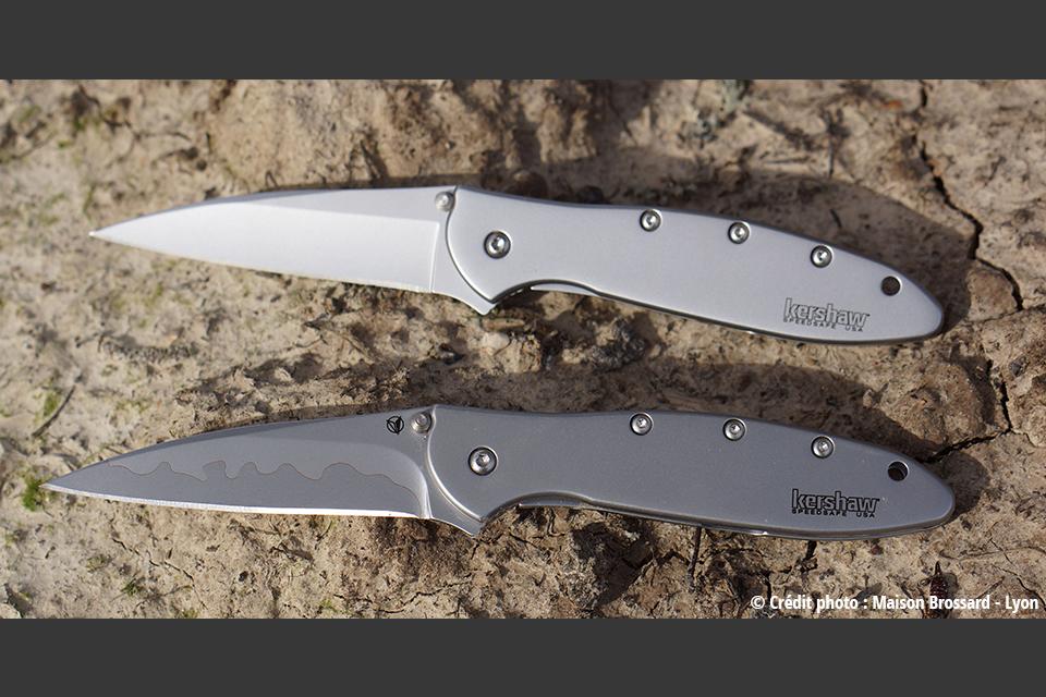 Couteaux Kershaw. Large gamme de 55€ à 185€