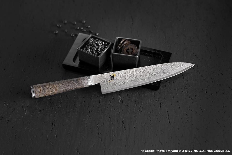 Miyabi Seki Japon – 5000 MCD 67- Damas 132 couches Manche Érable noir. Large gamme de 299€ à 399€