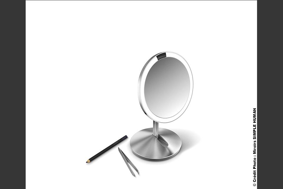Miroir SIMPLE HUMAN. Large gamme de 129€ à 349€