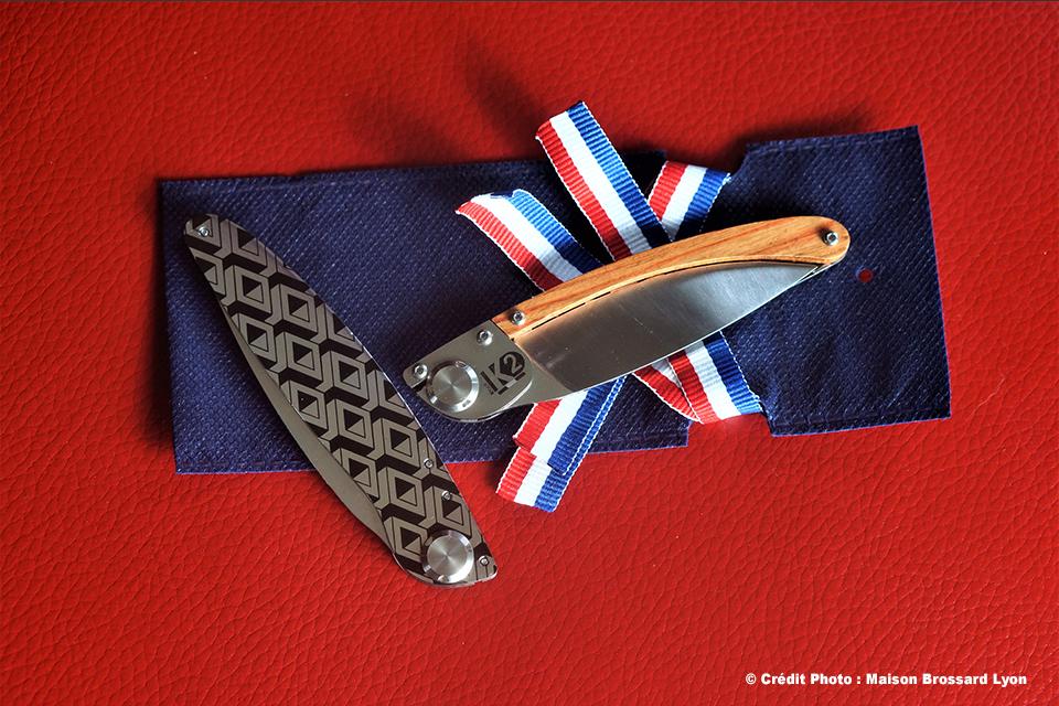 Couteau Le K2 création française. 49€