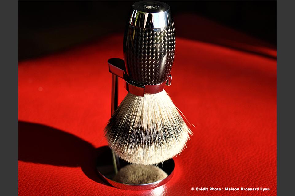 Mühle Edition Fibre de Carbone - Allemagne. Blaireau 350€ / Support 110€
