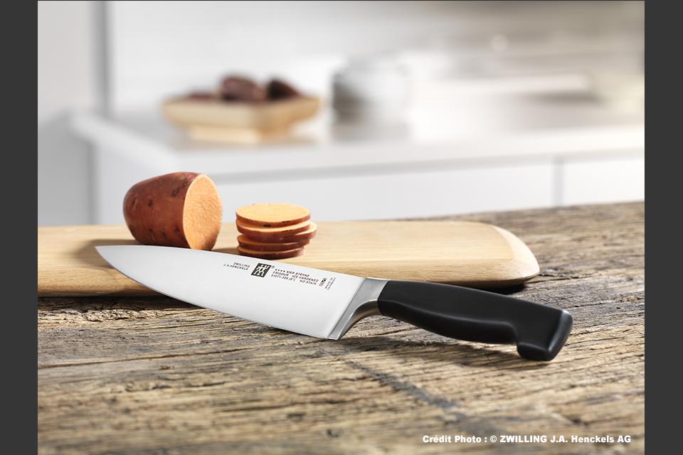 Couteau de Cuisine - Zwilling Solingen Allemagne. Large gamme de 46€ à 114€