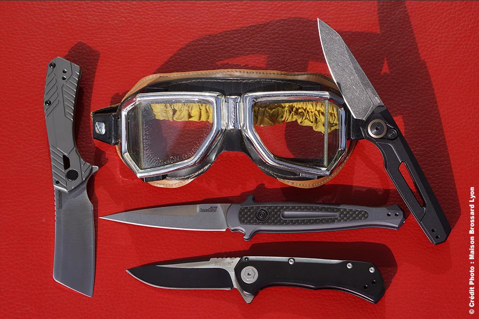 Couteaux Kershaw. De 55€ à 159€