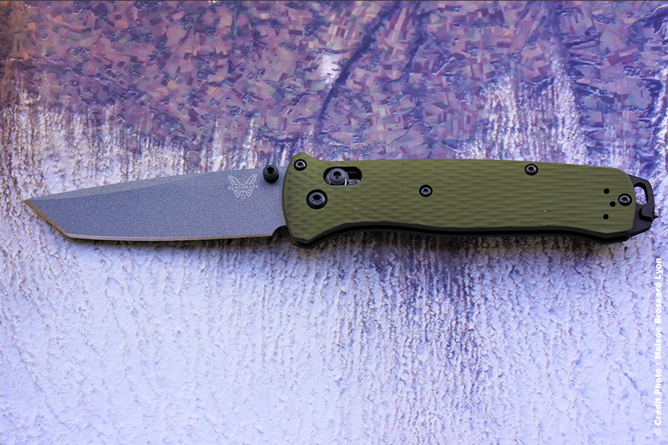 Benchmade U.S.A. Acier CPM-M4 Manche aluminium 6001-T6. Brise-vitre en tungstène. 275 €